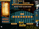 in-game screenshot : Word Master (og) - This haunted house spells trouble.