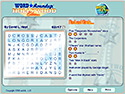 in-game screenshot : Word Roundup: Hollywood Edition (og) - Word search and trivia, all in one.