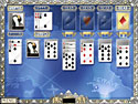 in-game screenshot : World Class Solitaire (pc) - Around-the-world solitaire action!