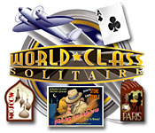 World Class Solitaire feature