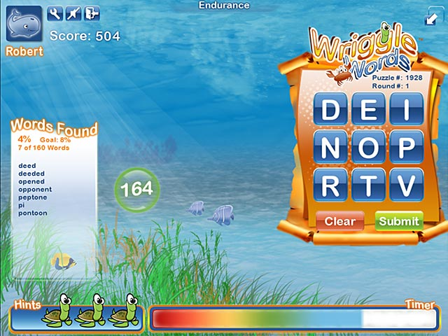 Big fish games wriggle words for Big fish games facebook