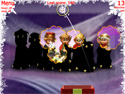 in-game screenshot : Xmas Stars (og) - Catch the Xmas Stars!