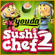 Free online games - game: Youda Sushi Chef 2