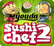 Buy PC games online, download : Youda Sushi Chef 2