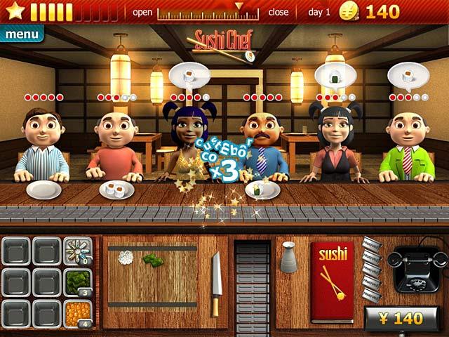 Gra Youda Sushi Chef Gra Bezpłatne
