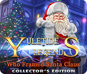 Buy PC games online, download : Yuletide Legends: Who Framed Santa Claus Collector's Edition