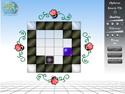 in-game screenshot : Zafiro (og) - Use gravity to escape the maze!
