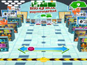 in-game screenshot : Zombies4Hire - Supermarket Bowling (og) - Bowl down the Zombies!