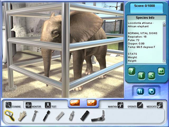 Zoo Vet 2: Endangered Animals - Save endangered animals as a vet.