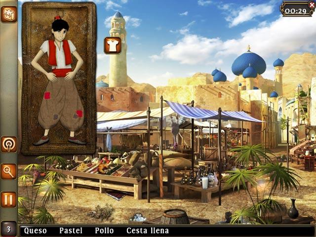 Aladin and the Wonderful Lamp: The 1001 Nights - ¡Ayuda a Aladín a conquistar a la princesa!