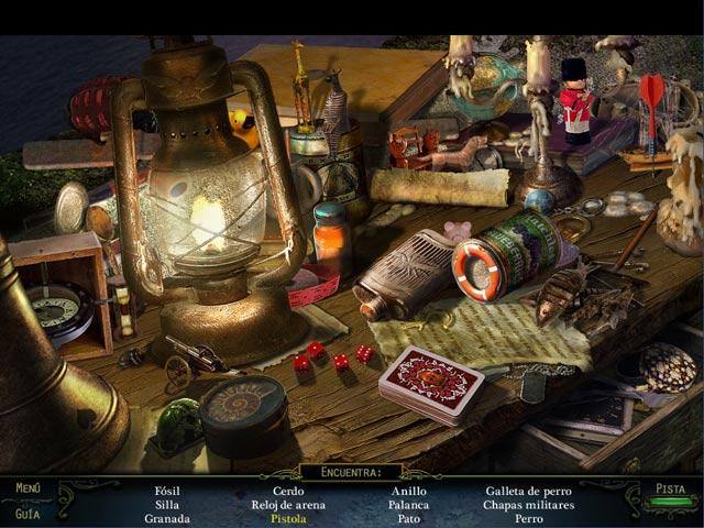 screen3 Haunting Mysteries: La Isla de Las Almas Perdidas Edición Coleccionista en Español