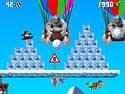 in-game screenshot : Penguin versus Yeti (pc) - ¡Derrapa en el ártico!