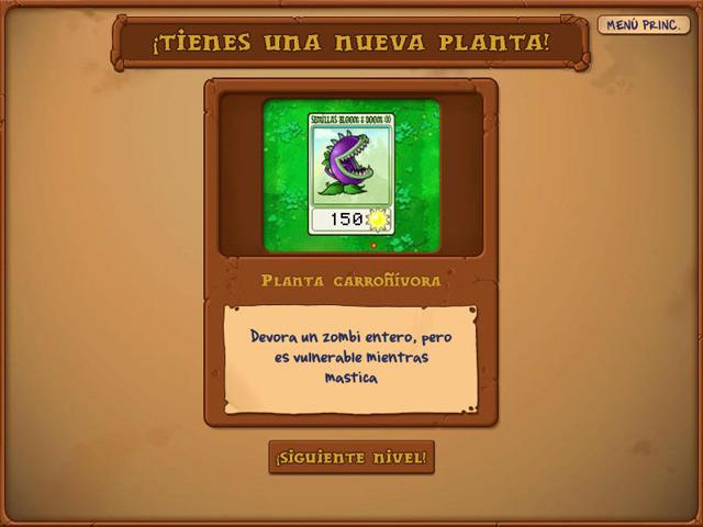 Plantas contra zombis (EDICION JUEGO DEL AÑO) [PC][ESP]