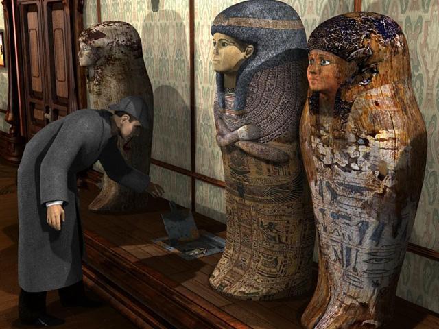 Sherlock Holmes: El Misterio de la Momia español full pc Screen2