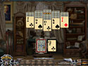 in-game screenshot : Solitaire Mystery: Stolen Power (pc) - ¡Encuentra las cartas mágicas!