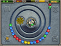in-game screenshot : Zuma Deluxe (pc) - ¡Emocionante puzzle de acción azteca!