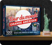 1001 Puzzles Tour du monde Grande Amérique