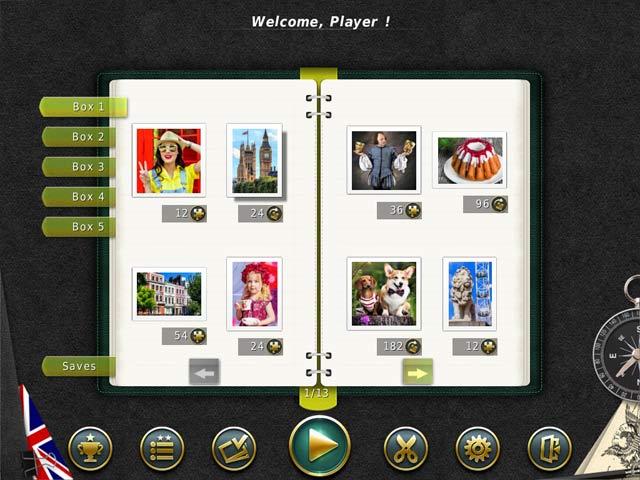 1001 Puzzles Tour du monde Londres image