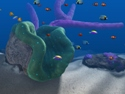 in-game screenshot : Big Kahuna Reef (pc) - Découvrez les fonds marins.