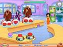 in-game screenshot : Cake Mania Main Street (pc) - Redynamisez la ville avec vos boutiques.