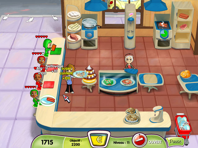 Cooking dash essai gratuit for Big fish cooking games