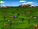 in-game screenshot : Evoly (pc) - Peuplez des mondes de créatures variées.
