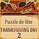 Puzzle de fête Thanksgiving Day 2
