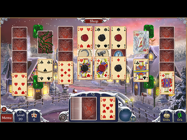 Jewel Match Solitaire: Winterscapes