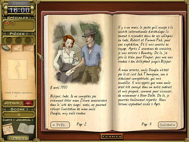 Jewel Quest Mysteries: Trail of the Midnight Heart joux juer