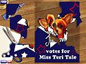 in-game screenshot : Miss Teri Tale: Vote 4 Me (pc) - Rejoignez la campagne électorale !