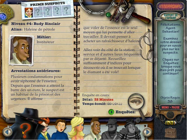 Mystery Case Files   Prime Suspects   Fr   By Cryptic preview 1