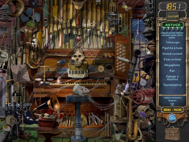 Mystery Case Files: Ravenhearst Captures d'écran