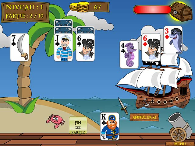 Pirate Solitaire image