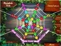 in-game screenshot : Rainbow Web (pc) - Les toiles vous enveloppent de plaisir.