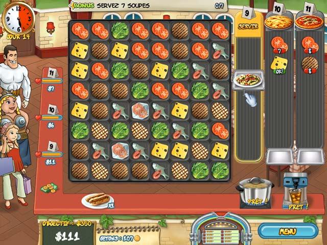 Jeux flash free restaurant rush - Jeux gratuit de cuisine restaurant ...