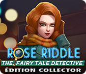 Rose Riddle: The Fairy Tale Detective Édition Collector