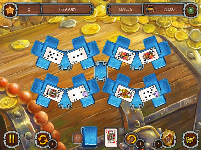 Solitaire Legend Of The Pirates 2 image