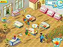 in-game screenshot : Supermarket Mania (pc) - Amassez les produits et sauvez le magasin.
