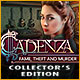 Nuovo gioco per computer Cadenza: Fame, Theft and Murder Collector's Edition