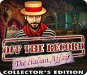 Acquista on-line giochi per PC, scaricare : Off the Record: The Italian Affair Collector's Edition