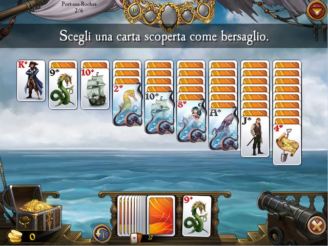 Big fish games seven seas solitaire for Big fish solitaire games