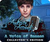 Acquista on-line giochi per PC, scaricare : The Andersen Accounts: A Voice of Reason Collector's Edition