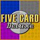 新しいコンピュータゲーム ファイブ カード デラックス