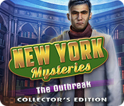 オンラインPCゲームを購入 : New York Mysteries: The Outbreak Collector's Edition