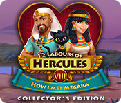 Spelletjes downloaden voor pc : 12 Labours of Hercules VIII: How I Met Megara Collector's Edition