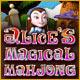 Spelletjes downloaden voor pc : Alice's Magical Mahjong