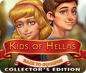 Spelletjes downloaden voor pc : Kids of Hellas: Back to Olympus Collector's Edition
