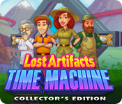 Spelletjes downloaden voor pc : Lost Artifacts: Time Machine Collector's Edition