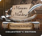 Spelletjes downloaden voor pc : Memoirs of Murder: Resorting to Revenge Collector's Edition