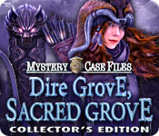 Spelletjes downloaden voor pc : Mystery Case Files: Dire Grove, Sacred Grove Collector's Edition